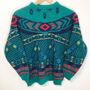 Vintage 80s 90s Sweater Size Large